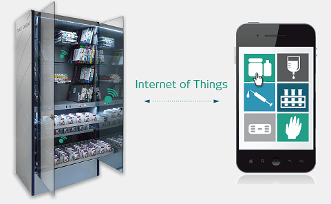 internet of things smartcabinet picture3 - IoT Improves Operational Efficiency in Hospitals