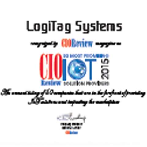 logitag awards - LogiTag Named Top 50 IoT Solutions Providers
