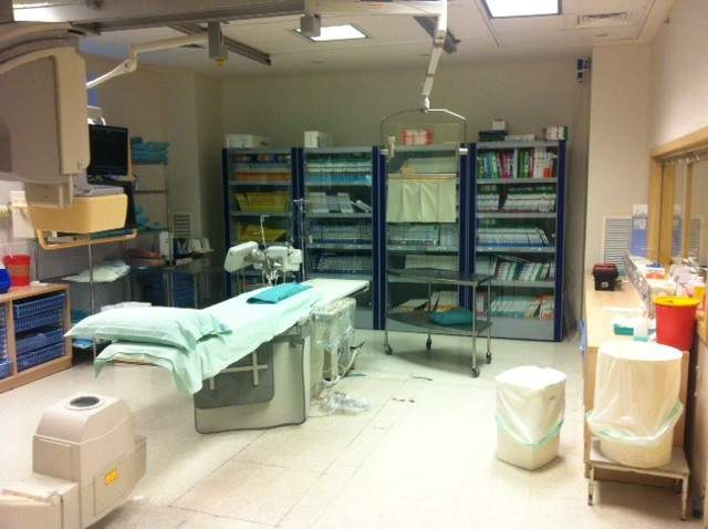 cath lab cabinet 2 - Assuta Medical Center