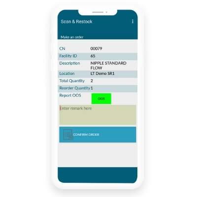 17 - Product Landing - Scan & Restock App