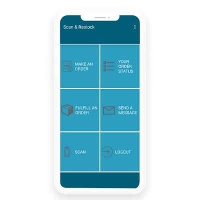 19 - Product Landing - Scan & Restock App