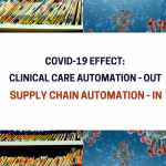 Blue and White Abstract Technology Blog Banner 150x150 - COVID-19 effect: Clinical Care Automation - OUT. Supply Chain Automation - IN